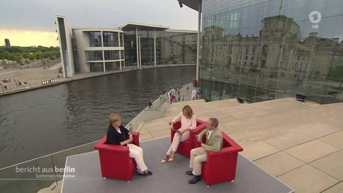 """Merkel im ARD-""""Sommerinterview"""""""