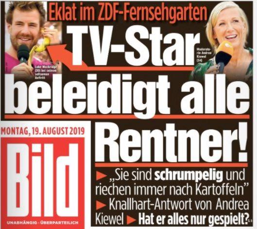 TV-Star beleidigt alle Rentner!