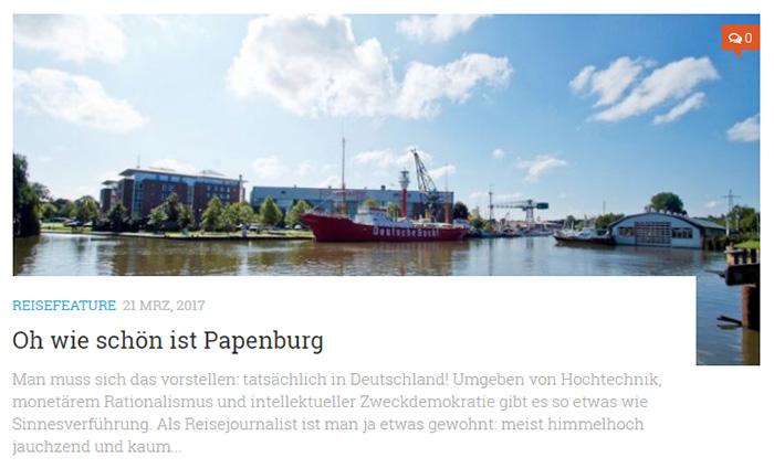 Oh wie schön ist Papenburg