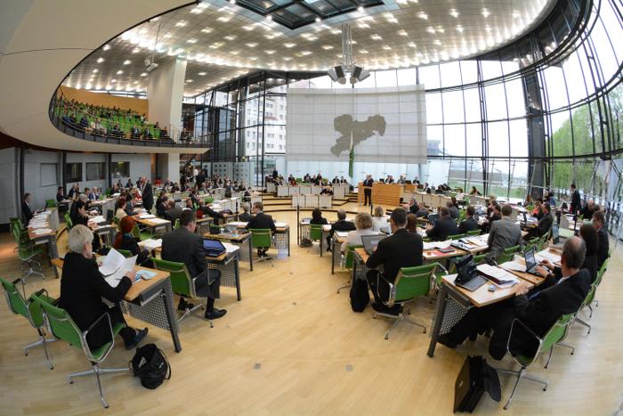 Plenarsitzung des Sächsischen Landtags