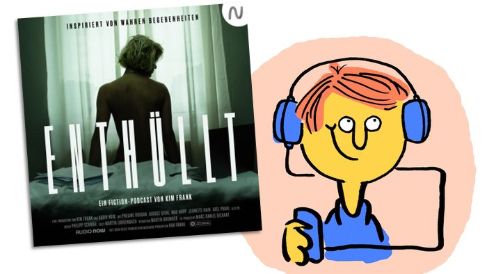 "Podcastkritik ""Enthüllt"" (Lachendes Gesicht)"