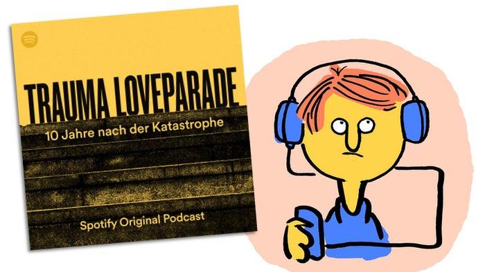 Podcast-Kritik: Trauma Loveparade