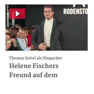 Helene Fischers Freund auf dem