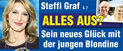 Steffi Graf - Alles aus? - Sein neues Glück mit der jungen Blondine