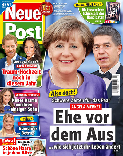 Also doch! Schwere Zeiten für das Paar - Angela Merkel - Ehe vor dem Aus - ... wie sich jetzt ihr Leben ändert