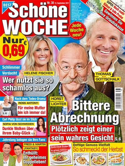 Horst Lichter - Thomas Gottschalk - Bittere Abrechnung - Plötzlich zeigt einer sein wahres Gesicht