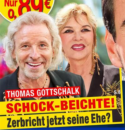 Thomas Gottschalk - Schock-Beichte! - Zerbricht jetzt seine Ehe?