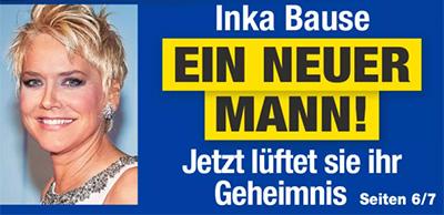 Inka Bause - EIN NEUER MANN! - Jetzt lüftet sie ihr Geheimnis