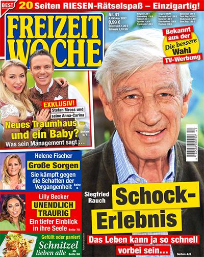 Siegfried Rauch - Schock-Erlebnis - Das Leben kann ja so schnell vorbei sein ...