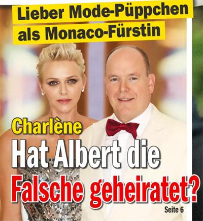 Lieber Mode-Püppchen als Monaco-Fürstin - Charlène - Hat Albert die Falsche geheiratet?