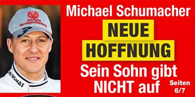 Michael Schumacher - NEUE HOFFNUNG - Sein Sohn gibt NICHT auf