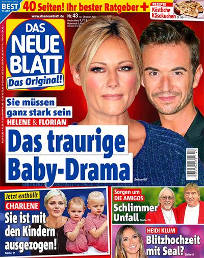 Sie müssen ganz stark sein - Helene & Florian - Das traurige Baby-Drama