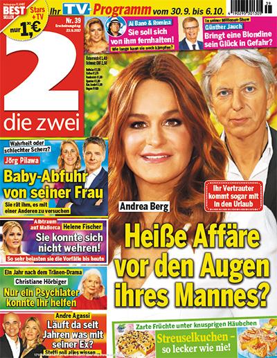Ihr Vertrauter kommt sogar mit in den Urlaub - Andrea Berg - Heiße Affäre vor den Augen ihres Mannes?
