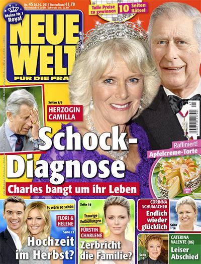Herzogin Camilla - Schock-Diagnose - Charles bangt um ihr Leben