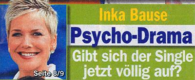 Inka Bause - Psycho-Drama - Gibt sich der Single jetzt völlig auf?