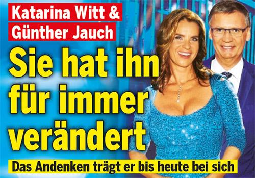 Katarina Witt & Günther Jauch - Sie hat ihn für immer verändert - Das Andenken trägt er bis heute bei sich