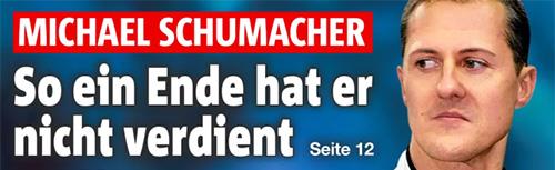 Michael Schumacher - So ein Ende hat er nicht verdient