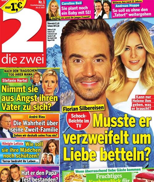 Florian Silbereisen - Schock-Beichte im TV - Musste er verzweifelt um Liebe betteln? - Kann nur Helene ihm geben, was er braucht?