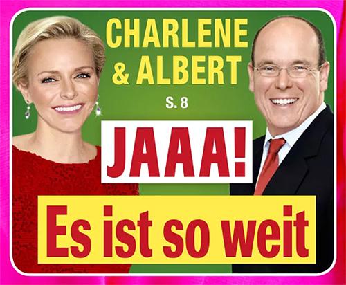 Charlène & Albert - JAAA! Es ist so weit