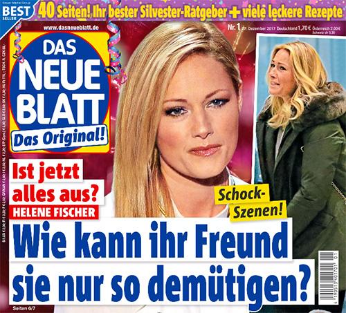 Ist jetzt alles aus? - Helene Fischer - Schock-Szenen! - Wie kann ihr Freund sie nur so demütigen?