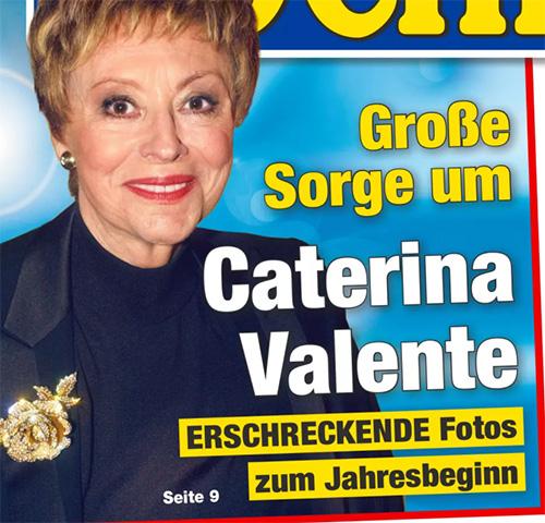 Große Sorge um Caterina Valente - ERSCHRECKENDE Fotos zum Jahresbeginn