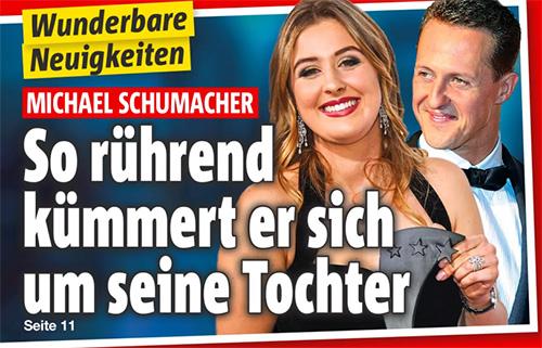 Wunderbare Neuigkeiten - Michael Schumacher - So rührend kümmert er sich um seine Tochter