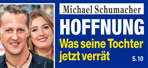 Michael Schumacher - HOFFNUNG - Was seine Tochter jetzt verrät