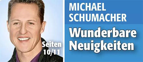 Michael Schmacher - Wunderbare Neuigkeiten