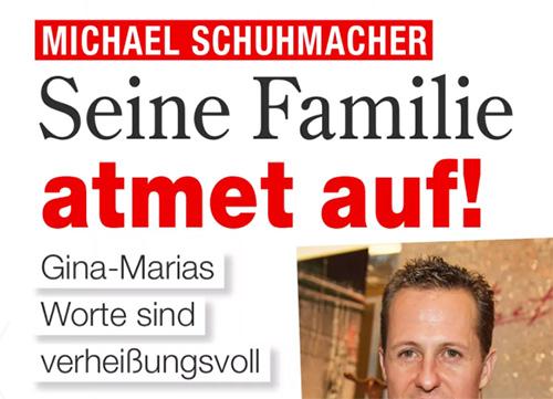 Michael Schumacher - Seine Familie atmet auf! - Gina-Marias Worte sind verheißungsvoll