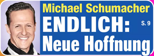 Michael Schumacher - ENDLICH: Neue Hoffnung