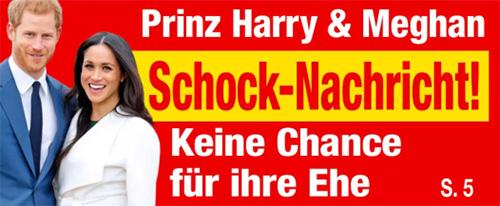 Prinz Harry & Meghan - Schock-Nachricht! - Keine Chance für ihre Ehe
