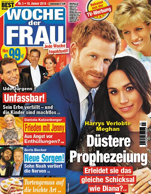 Harrys Verlobte Meghan - Düstere Prophezeiung - Erleidet sie das gleiche Schicksal wie Diana?