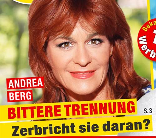Andrea Berg - BITTERE TRENNUNG - Zerbricht sie daran?