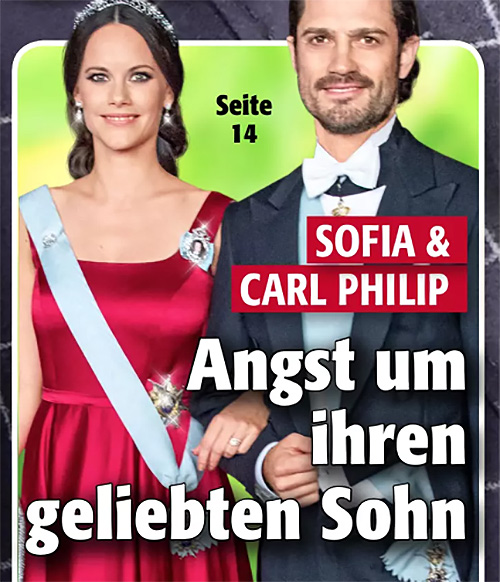 Sofia & Carl Philip - Angst um ihren geliebten Sohn