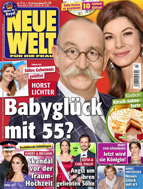 Süßes Geheimnis gelüftet - Horst Lichter - Babyglück mit 55?