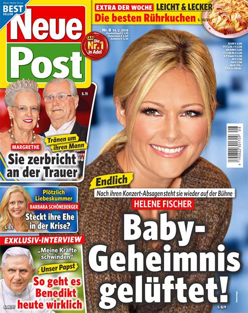 Endlich - Nach ihren Konzert-Absagen steht sie wieder auf der Bühne - Helene Fischer - Baby-Geheimnis gelüftet!
