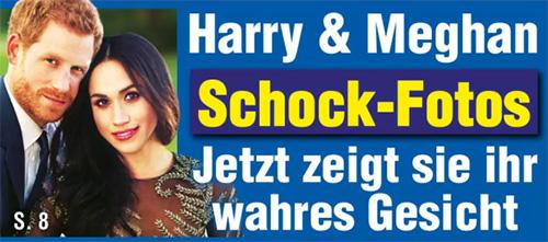 Harry & Meghan - Schock-Fotos - Jetzt zeigt sie ihr wahres Gesicht