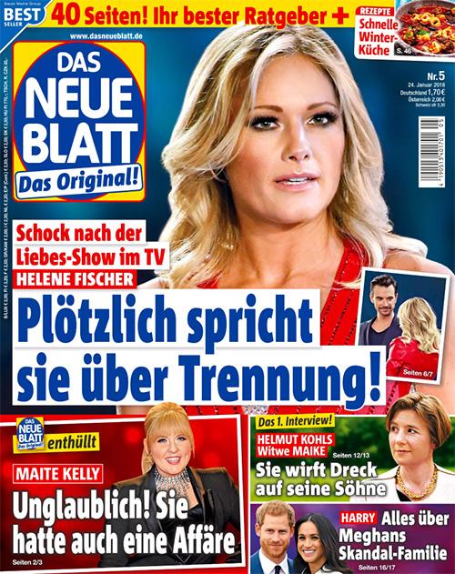 Schock nach der Liebes-Show im TV - Helene Fischer - Plötzlich spricht sie über Trennung