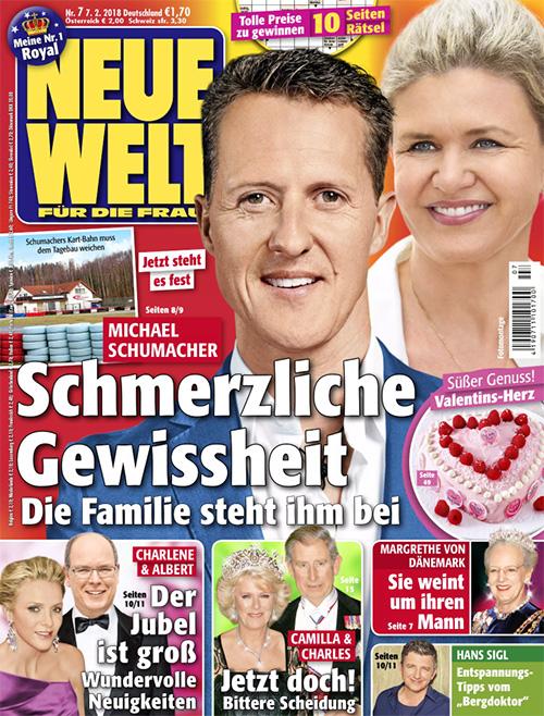 Jetzt steht es fest - Michael Schumacher - Schmerzliche Gewissheit - Die Familie steht ihm bei