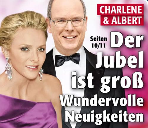 Charlene & Albert - Der Jubel ist groß - Wundervolle Neuigkeiten