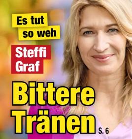 Es tut so weh - Steffi Graf - Bittere Tränen