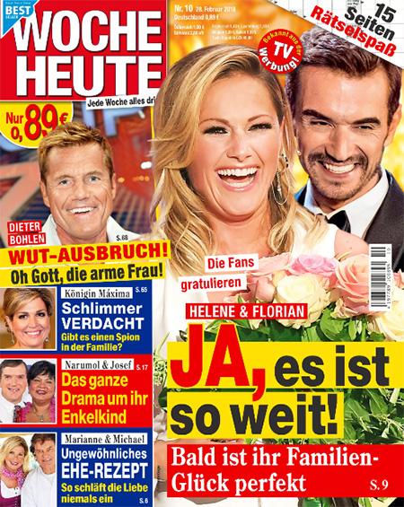 Die Fans gratulieren - Helene & Florian - JA, es ist so weit! Bald ist ihr Familien-Glück perfekt
