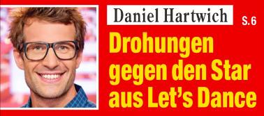 Daniel Hartwich - Drohungen gegen den Star aus Let's Dance