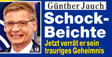 Günther Jauch - Schock-Beichte - Jetzt verrät er sein trauriges Geheimnis