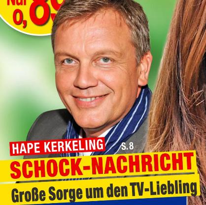 Hape Kerkeling - SCHOCK-NACHRICHT - Große Sorge um den TV-Liebling