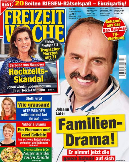 Johann Lafer - Familien-Drama! - Er nimmt jetzt die ganze Schuld auf sich