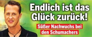 Michael Schumacher - Endlich ist das Glück zurück! - Süßer Nachwuchs bei den Schumachers