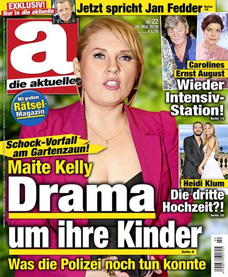 Schock-Vorfall am Gartenzaun! - Maite Kelly - Drama um ihre Kinder - Was die Polizei noch tun konnte