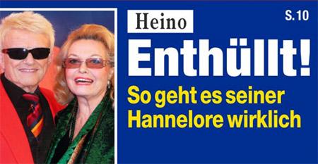 Heino - Enthüllt! - So geht es seiner Hannelore wirklich
