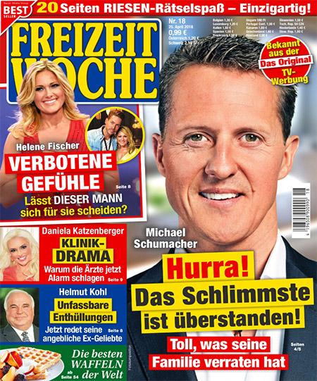 Michael Schumacher - Hurra! - Das Schlimmste ist überstanden! - Toll, was seine Familie verraten hat